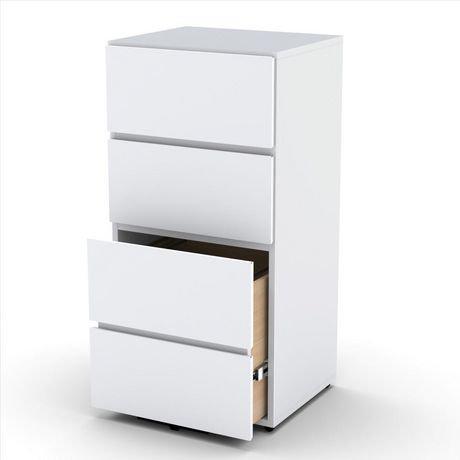 Nexera Blvd 3-Drawer Filing Cabinet, White | Walmart Canada