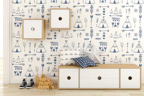Unités murales Domino, 2 unités, Érable naturel et blanc - image 5 de 6