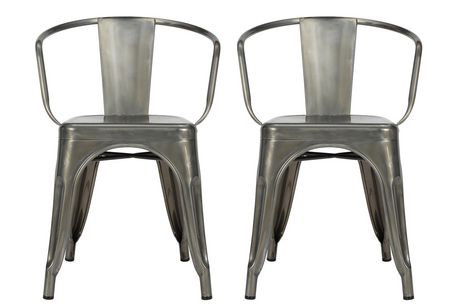 Dhp Elise Metal Dining Chair 2 Pack Walmart Canada