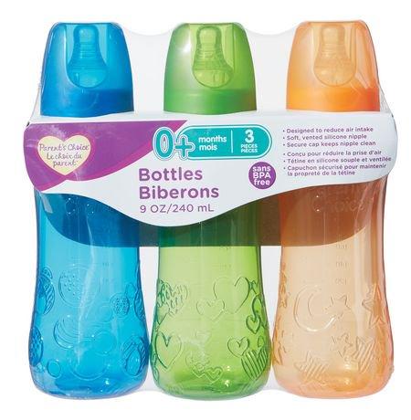 Parent's Choice BPA free 9oz Bottles | Walmart Canada