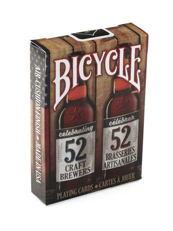 Jeu de cartes de Bicycle à motif de bière artisanale