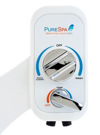 Brondell Purespa Dual Temperature Bidet Attachment