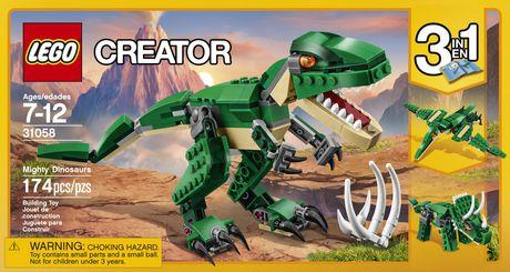 LEGO Creator Mighty Dinosaurs (31058) - image 4 of 5