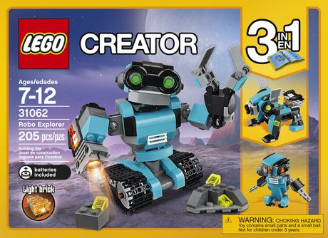 LEGO Creator Le robot explorateur (31062) - image 4 de 5