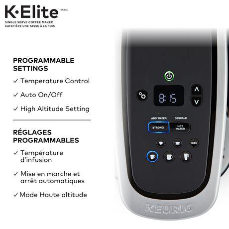 Keurig® K-EliteMC cafetière une tasse à la fois - image 2 de 3