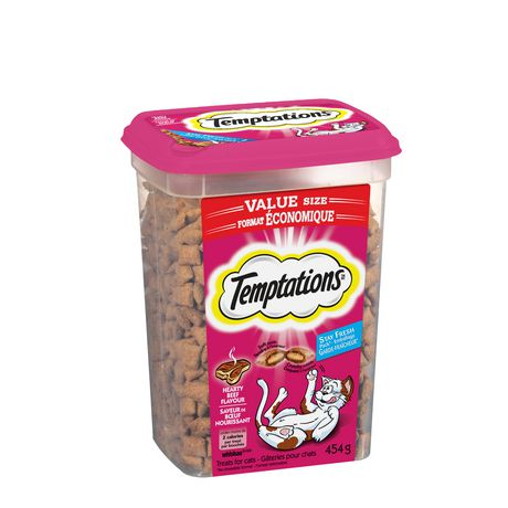 TEMPTATIONS® Hearty Beef Flavour CAT Treats - image 2 of 9