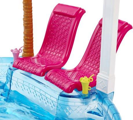 Coffret de jeu piscine glamour de barbie walmart canada for Coffret piscine