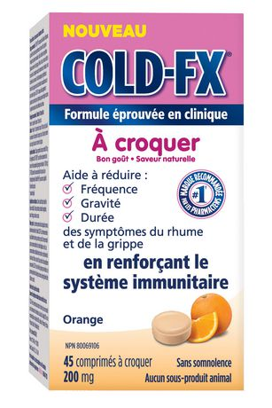 COLD-FX® Daily Support Orange Chewable - image 2 of 4