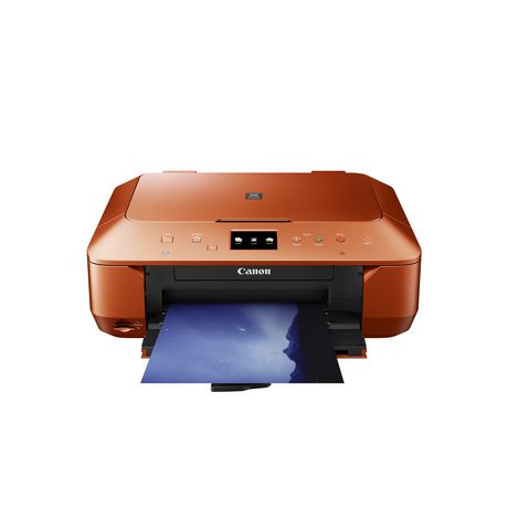 Canon Pixma Mg6620 Wireless Inkjet Photo All In One Printer Orange