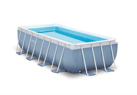 Intex Prism Frame Rectangular Above Ground Pool With Filter Pump Walmart Canada