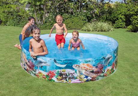 piscine snapset d 39 intex trading bleue marine walmart canada. Black Bedroom Furniture Sets. Home Design Ideas