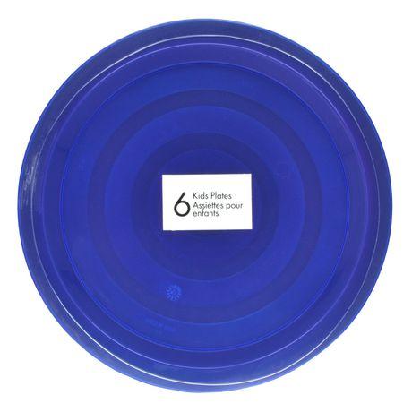sc 1 st  Walmart Canada & Mainstays Plastic Kids\u0027 Plates | Walmart Canada