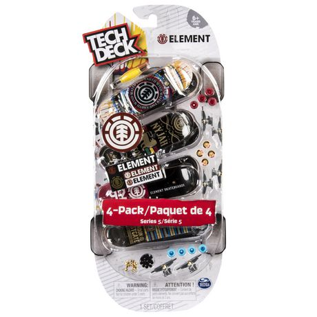 96mm Fingerboards 4-Pack Toy Machine Tech Deck
