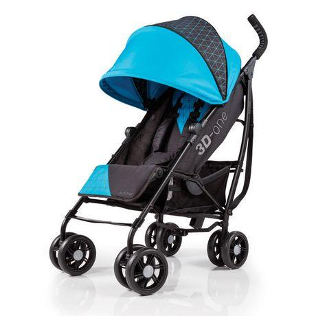 Summer Infant 3D One Convenience Baby Stroller Black