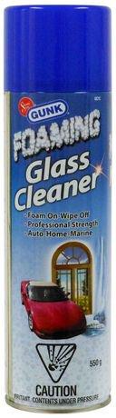 Mousse nettoyante gunk pour vitres sans traces walmart for Nettoyage vitres sans traces