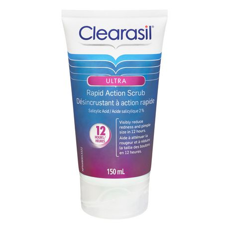 Clearasil® Ultra® Rapid Action Scrub, Acne Treatment - image 2 of 5