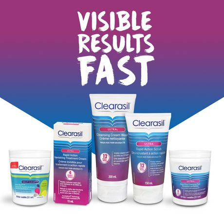 Clearasil® Ultra® Rapid Action Scrub, Acne Treatment - image 5 of 5