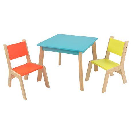 Kidkraft Highlighter Modern Table And Chair Set Walmart