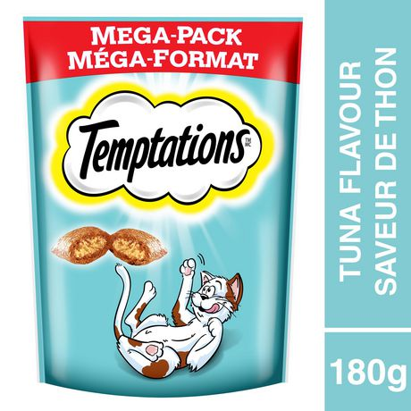 Whiskas Temptations Tempting Tuna Flavour Treats for Cats - image 1 of 4