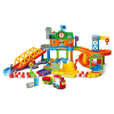 VTech Go! Go! Smart Wheels Roadmaster Train Set - English - image 2 of 6