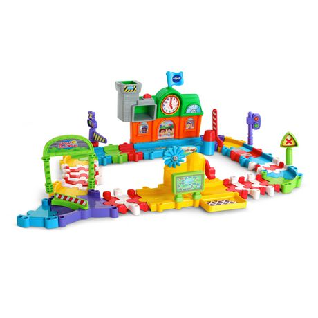 VTech Go! Go! Smart Wheels Roadmaster Train Set - English - image 3 of 6