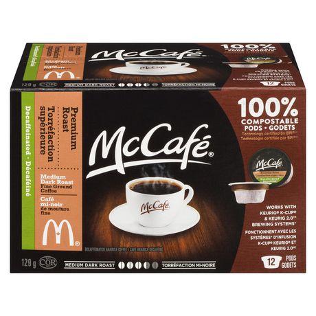 Dosettes de café décaféiné à torréfaction supérieure de McCafé - image 1 de 3