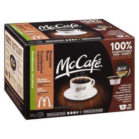 Dosettes de café décaféiné à torréfaction supérieure de McCafé - image 2 de 3