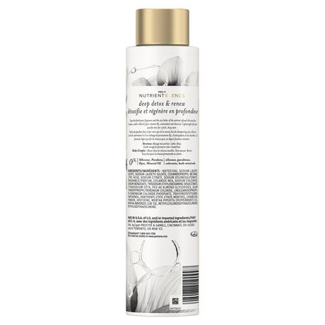 Pantene Pro-V Nutrient Blends Deep Detox & Renew Shampoo - image 2 of 7