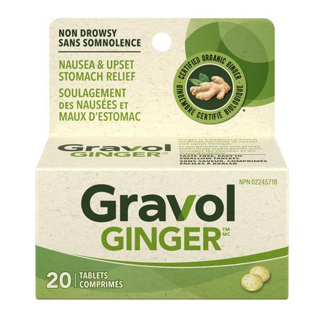 Gravol Ginger Non-Drowsy Tablets - image 1 of 4