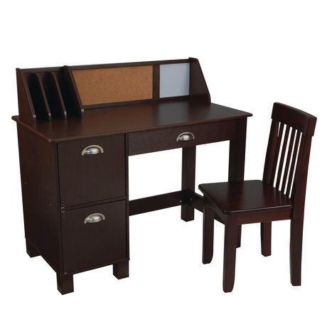Kidkraft Espresso Study Desk With Chair Walmart Canada