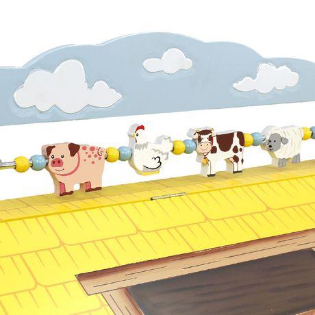 Fantasy Fields Happy Farm Kids Storage Bench - image 5 of 7