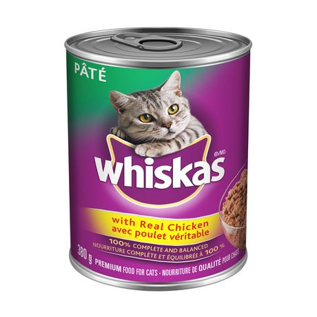 Whiskas CAT Food Pâté with Real Chicken - image 1 of 3