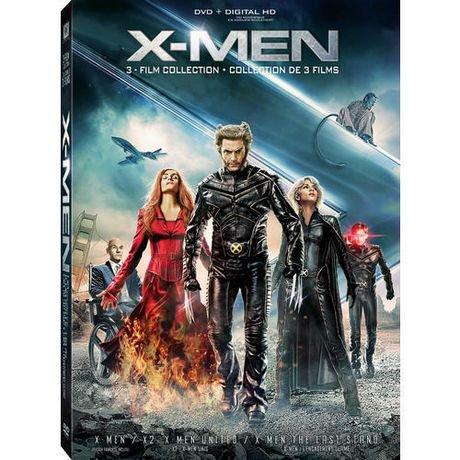 x men 3 film collection x men x2 x men united x men 3 the last stand dvd digital hd. Black Bedroom Furniture Sets. Home Design Ideas