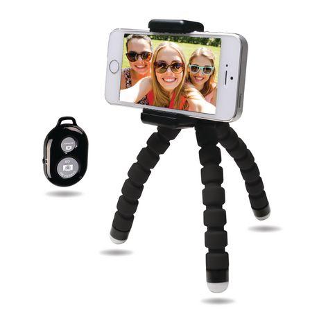 Bower Compact Selfie Bendi Pod avec télécommande - image 1 de 2