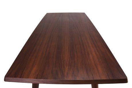 Plata Import Rectangular Copine Table with Walnut Veener - image 3 of 5