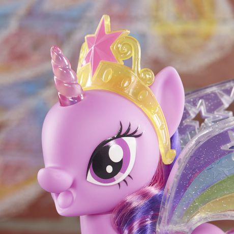 b94c51bfc09 My Little Pony Rainbow Wings Twilight Sparkle -- Pony Figure with Lights  and Moving Wings ...