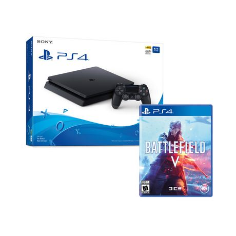 PS4 1TB SLIM WITH BATTLEFIELD V - image 1 of 1
