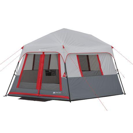 Ozark Trail Tente Hexagonale Instantanée pour 8 Personnes Avec ...
