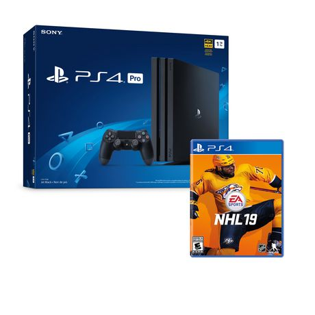 PS4 PRO 1TB WITH NHL 19 - image 1 of 1