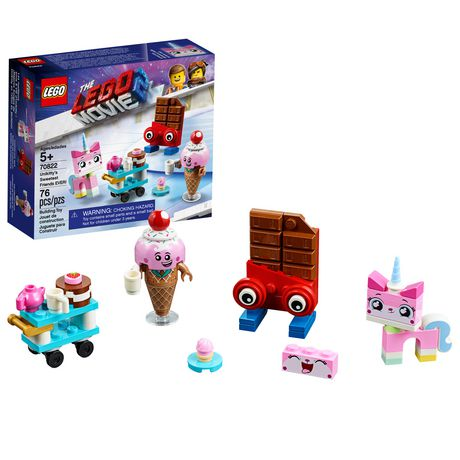 THE LEGO MOVIE 2 Unikitty's Sweetest Friends EVER! 70822 Building Kit (76 Piece) - image 1 of 5