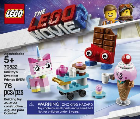 THE LEGO MOVIE 2 Unikitty's Sweetest Friends EVER! 70822 Building Kit (76 Piece) - image 5 of 5