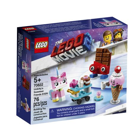 THE LEGO MOVIE 2 Unikitty's Sweetest Friends EVER! 70822 Building Kit (76 Piece) - image 2 of 5