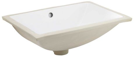 American Imaginations 18.25-in. W Undermount Sink Set White - image 6 of 9