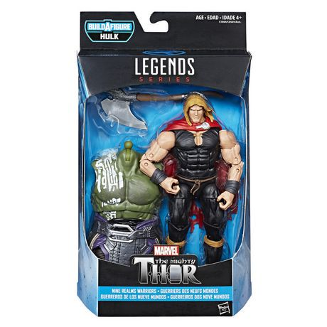 Marvel Thor Legends Series 6-inch Nine Realms Warriors ...
