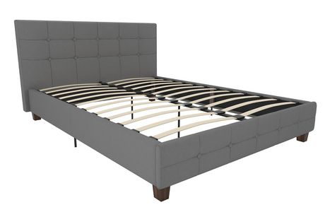 Dhp Rose Upholstered Bed Canada, Engelbertha White Queen Upholstered Bed