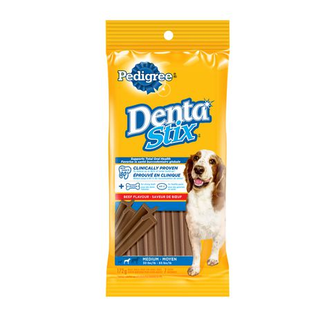 Pedigree Dentastix Medium Dog Beef Flavour 172g - image 1 of 3