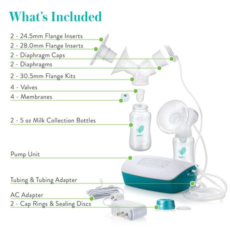 Evenflo Feeding Hospital Strength Advanced Double Electric Breast Pump - image 6 of 9