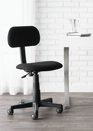 Office Chairs Walmart >> Mainstays Fabric Task Chair