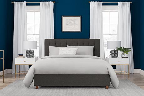 Dhp Emily Upholstered Bed Walmart Canada
