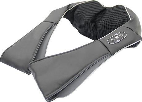 Sharper image 3d shiatsu neck and shoulder massager with for 3d massager review